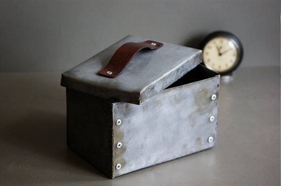 Steel Riveted Box