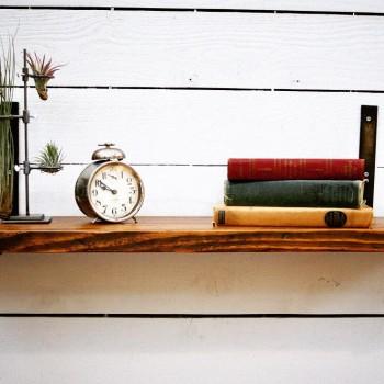 Large Ledge Style Shelf