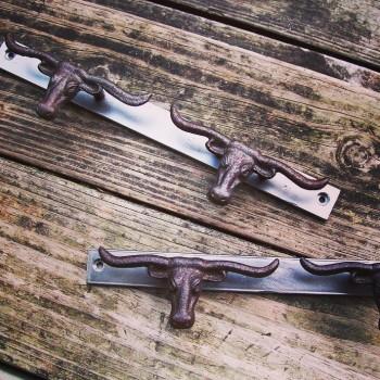 Longhorn Key Hooks