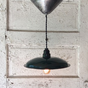 Hardwired Vintage Industrial Pendant Light