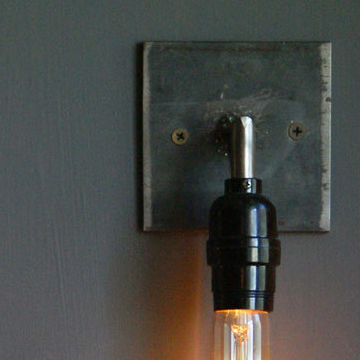 Industrial Steel Sconces